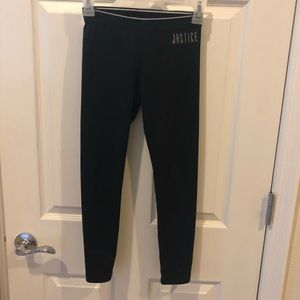 Justice size 8 leggings